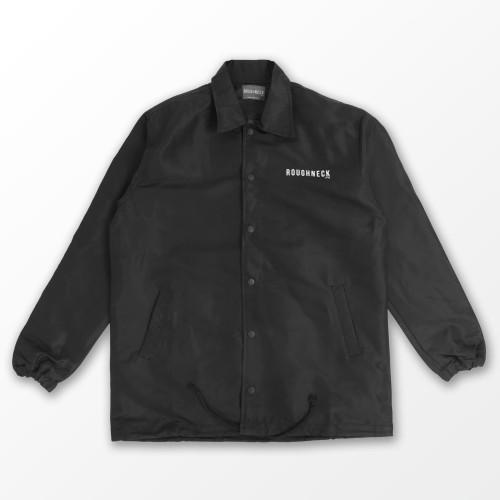 Foto Produk Roughneck CJ025 Black Social Hazards Coach Jacket - M dari ROUGHNECK 1991 Official