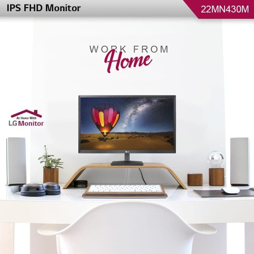 Foto Produk LG Monitor 22MN430M-B [2HDMI/DSUB/AUDIO] 22MN430 22MN430M IPS FULL HD dari silicon ONE Computer