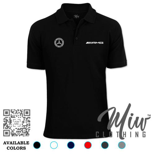 Foto Produk Kaos Polo Mercedes AMG Logo dari Miw Clothing