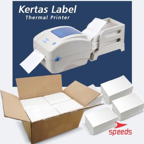 Foto Produk Label Thermal 100x150 Kertas Sticker Receipt Printer Barcode Xpinter dari Speeds Official Store