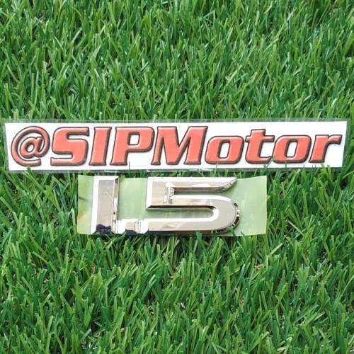 Foto Produk Emblem Logo 1.5 Utk Avanza Xenia Veloz Rush Terios All New dari SIPMotor
