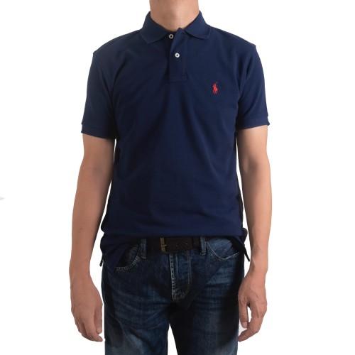 Foto Produk POLO SHIRTS Custom Fit 100% Cotton - Navy - M dari POLO Indonesia Official
