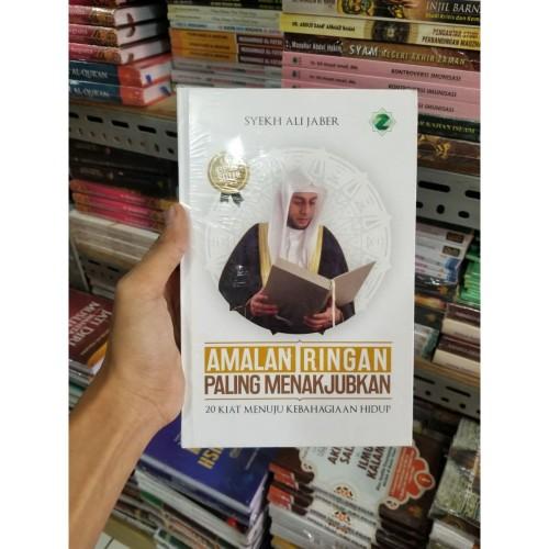 Foto Produk Buku Amalan Ringan Paling Menakjubkan By Syeikh Ali Jaber ORI HC dari TOKO Grosir Buku