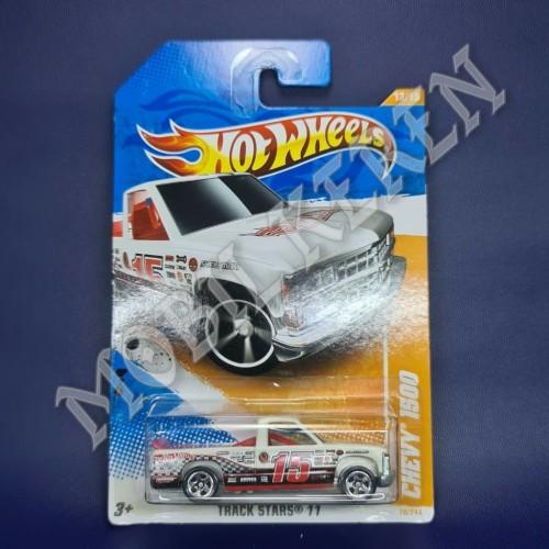 Foto Produk Hot Wheels Track Stars 11 Chevy 1500 White dari Mobil Keren