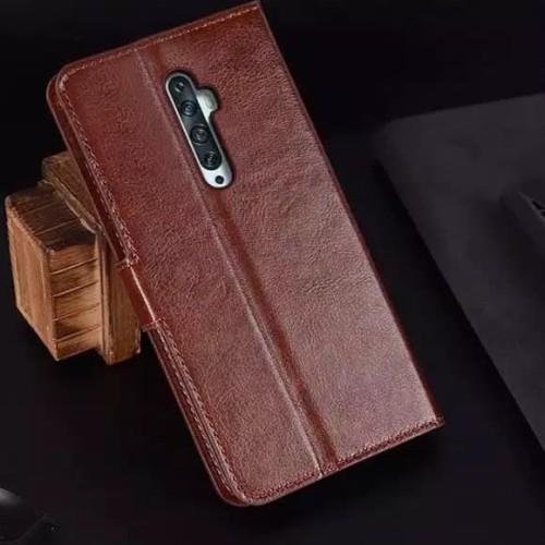 Foto Produk Case murah OPPO Reno 2f leather flip cover wallet kulit dari FerraruACC