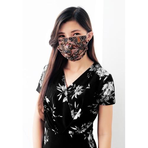 Foto Produk Masker Batik Water Repellent/ Anti Microbial 3 Ply dari AKSA BATIK