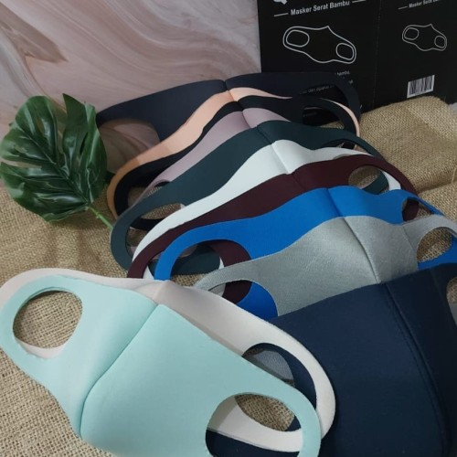 Foto Produk masker Q mask dari bahan serabut bambu dari BBTronik