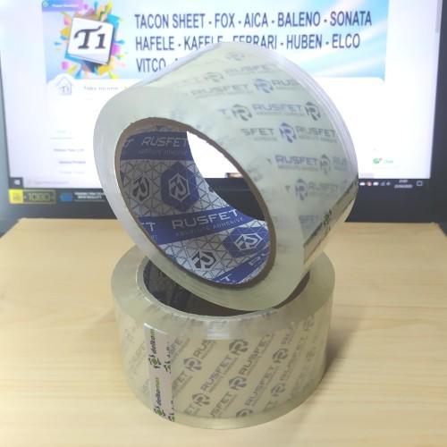 Foto Produk Lakban Rusfet 2 inch / 48mm x 90 yard Super Bening dari Toko Income