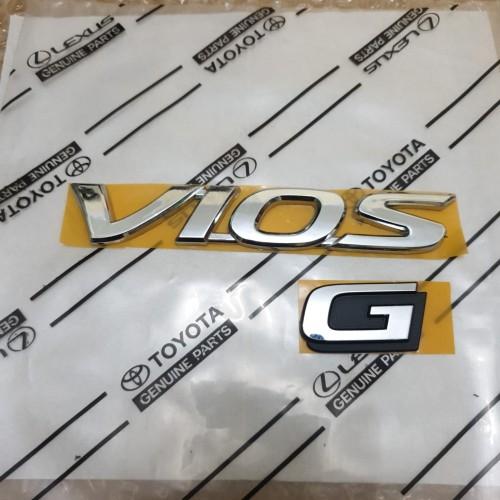 Foto Produk emblem vios & G dari toko#dirumahaja