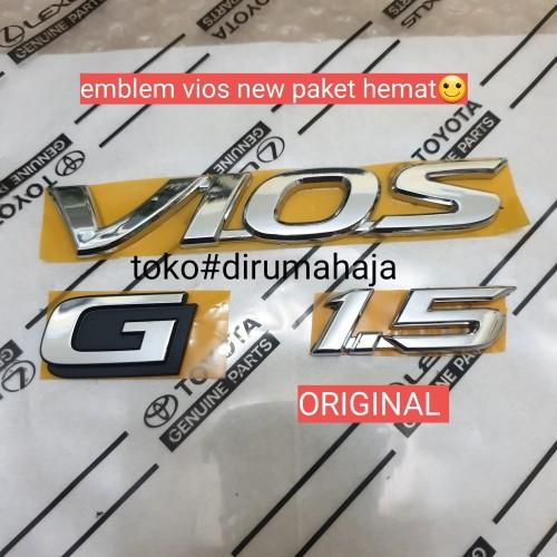Foto Produk emblem vios new paket hemat dari toko#dirumahaja