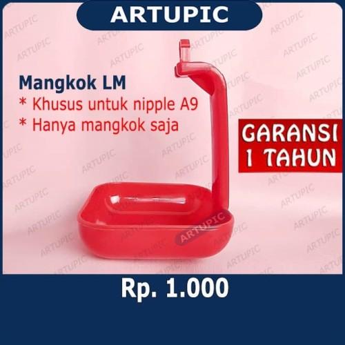 Foto Produk Mangkok LM untuk nipple nipel nepel ayam A9 dari ArtupicPeralatanPeternak