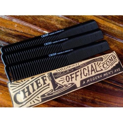 Foto Produk Sisir pomade carbon chief Official Comb Original (A Modern Men's Axe) dari Pomade Murrays