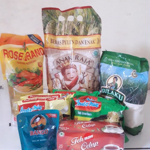 Foto Produk Paket Sembako 5 PROMO dari Eza@unopapua