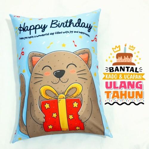 Foto Produk Bantal Kado & Hadiah Ulang Tahun 30x40cm - Ready - NO PO dari rumah bantal 123