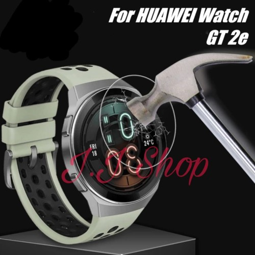 Foto Produk Tempered Glass Anti Gores Kaca Huawei Watch GT 2e 2020 Screen Guard dari Logam Mulia Termurah