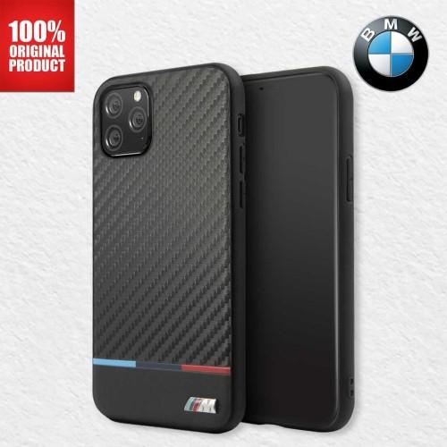 "Foto Produk BMW - Case Iphone 11 Pro Max 6.5"" - Carbon Pu Leather Tricolor Stripe dari PlayWorks Official Store"