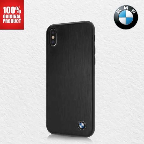 Foto Produk BMW Brushed Aluminium - Case iPhone X - Black dari PlayWorks Official Store