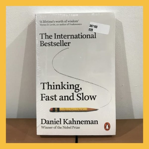 Foto Produk Buku Import Thinking, Fast and Slow by Daniel K (Original Paperback) dari Book World