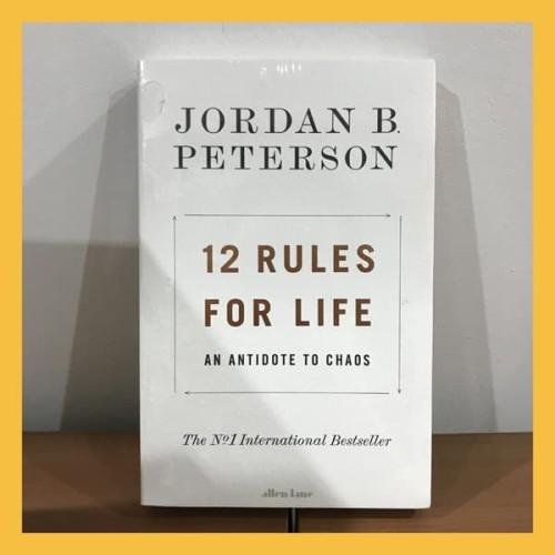 Foto Produk Buku Import 12 Rules for Life by Jordan Peterson (Original Paperback) dari Book World