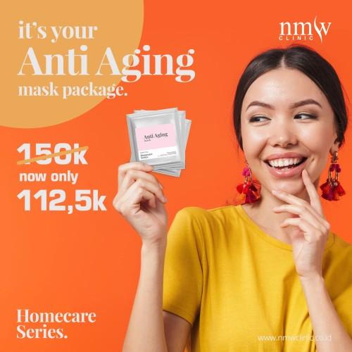 Foto Produk NMW Homecare Series - Anti aging #maskerandirumah dari NMW Clinic