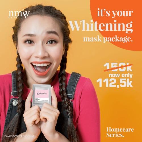 Foto Produk NMW Homecare Series - Whitening #maskerandirumah dari NMW Clinic