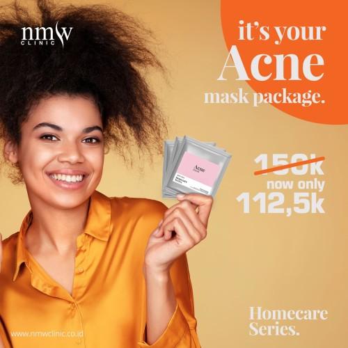 Foto Produk NMW Homecare Series - Acne #maskerandirumah dari NMW Clinic