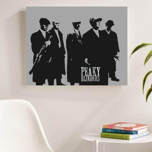 """Foto Produk """"Peaky Blinders, ver.3"""" Poster Kayu (30x22) dari Arkham Inc"""