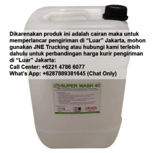 Foto Produk Go Superwash 40 (20 Liter/Galon), untuk mesin cetak offset dari Grafa Online