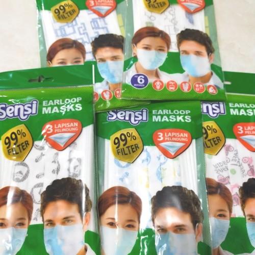 Foto Produk Sensi Masker isi 5 pcs dari JAshop88