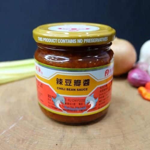 Foto Produk FU CHI Chilli Bean Sauce 200gr Chili FuChi / Doupanchiang / Tobanjang dari berkah terang