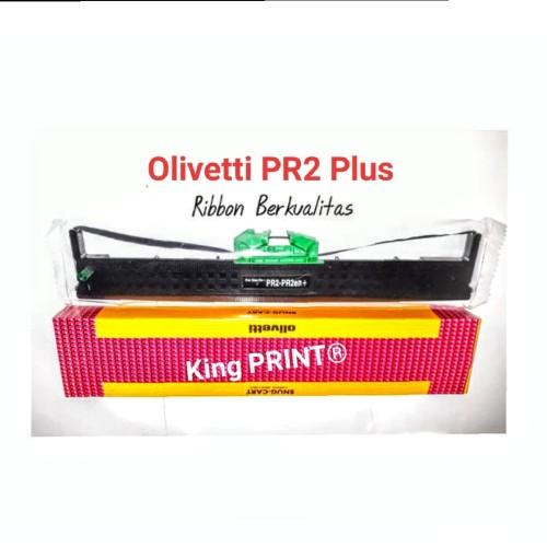 Foto Produk PITA RIBBON KATRIDGE OLIVETTI PR2 Plus/IMPORT - Hitam dari kingPrint