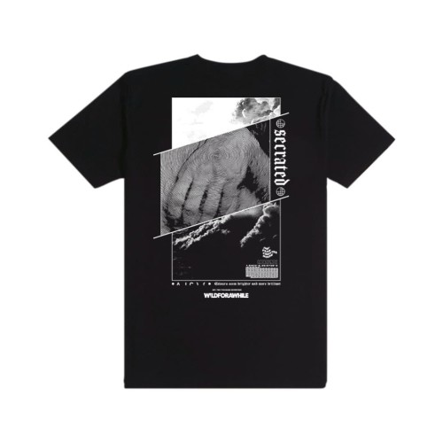 Foto Produk Morwick Tshirt Kaos Pria Secrated Hitam - L dari Morwick Official Shop