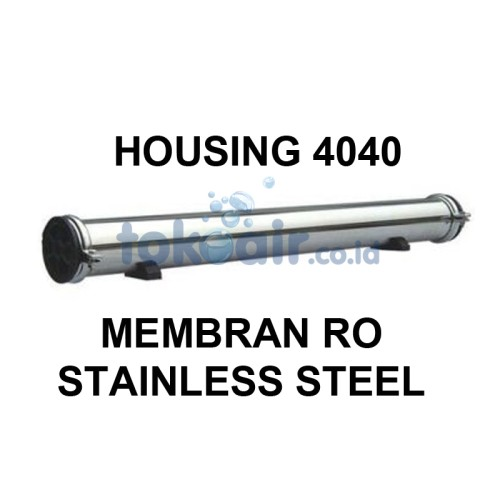 Foto Produk Housing 4040 MEMBRAN RO STAINLESS STEEL dari Toko Filter Airindo