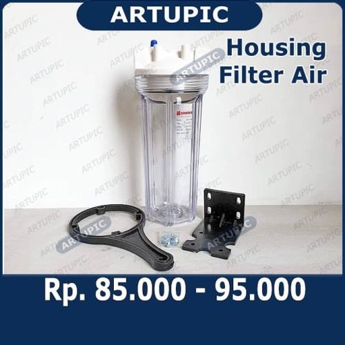 "Foto Produk Housing Filter Air 10"" Clear Drat 3/4"" Nanotec Saringan Air dari ArtupicPeralatanPeternak"