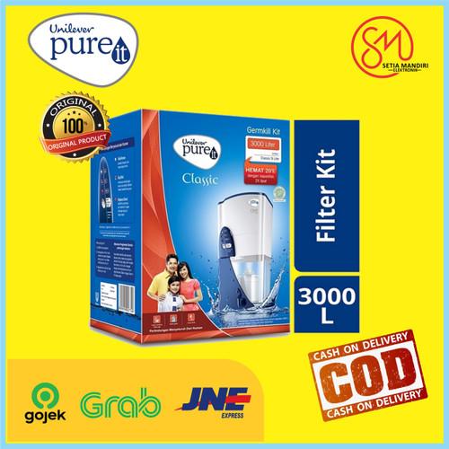 Foto Produk Refill Pureit Germkill Kit 3000 L Pure It Germ Kill GKK Classic 3000L - TANPA BUBBLE dari Setia Mandiri Elektronik