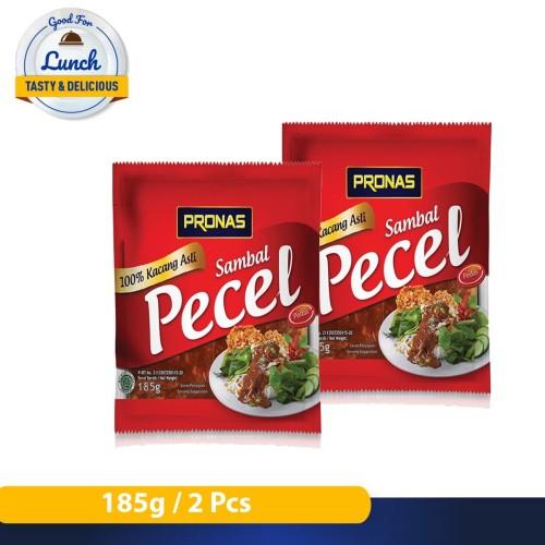 Foto Produk Pronas Pecel Pedas Sedang 185 g bundling 2 pcs dari Pronas Official Store