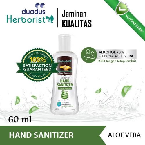 Foto Produk Herborist Hand Sanitizer Gel Antiseptic Aloe Vera Antiseptik Tangan dari duadus