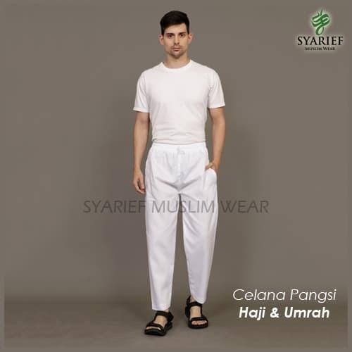 Foto Produk Celana Pangsi/Haji/Umrah - Exclusive by Ardha Collection - Hitam, L dari Syarief Muslim Wear