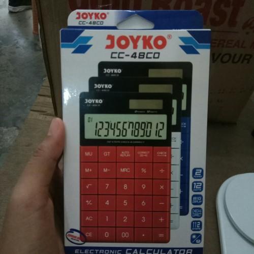 Foto Produk Kalkulator Joyko CC - 48CO - Merah dari Toko ABC pasar pagi lama