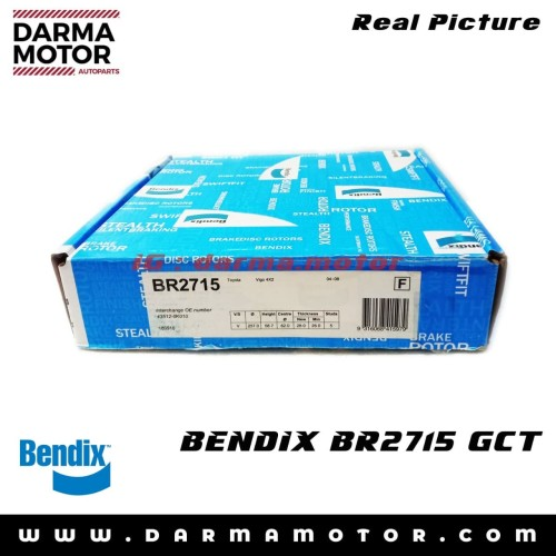 Foto Produk DISC BRAKE DEPAN BR2715 BENDIX - 616111 TOYOTA INNOVA TOYOTA HILUX dari DARMA AUTOMOTIVE PARTS