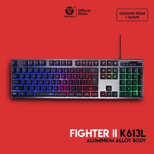 Foto Produk Fantech Fighter K613L - RGB Gaming Keyboard dari Fantech Official Store