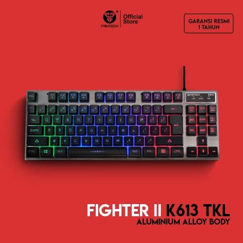 Foto Produk Fantech Fighter K613 TKL - RGB Gaming Keyboard dari Fantech Official Store