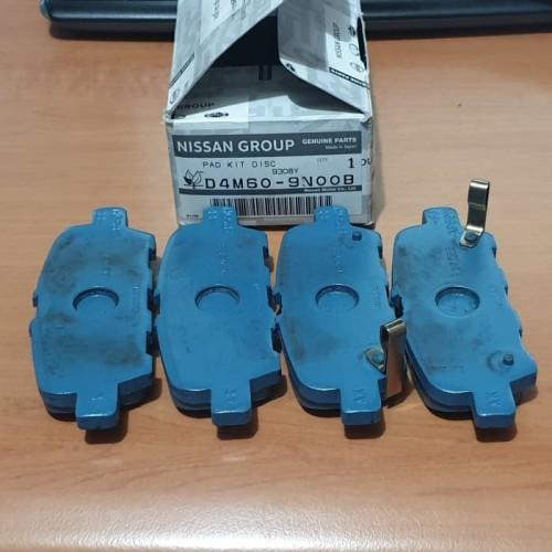 Foto Produk TEANA L33 Serena C26 Kampas Rem BELAKANG Brake Pad REAR ORI NISSAN dari Sparepart Nissan Genuine