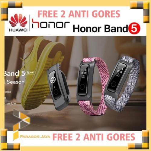 Foto Produk Huawei Honor Band 5 Sport Basket Ball Smartband Smartwatch Mi band 4 - Sport Grey dari ParagonJaya