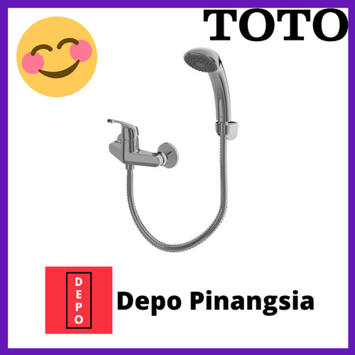 Foto Produk Single lever shower set TOTO TX433SD dari Depo Pinangsia