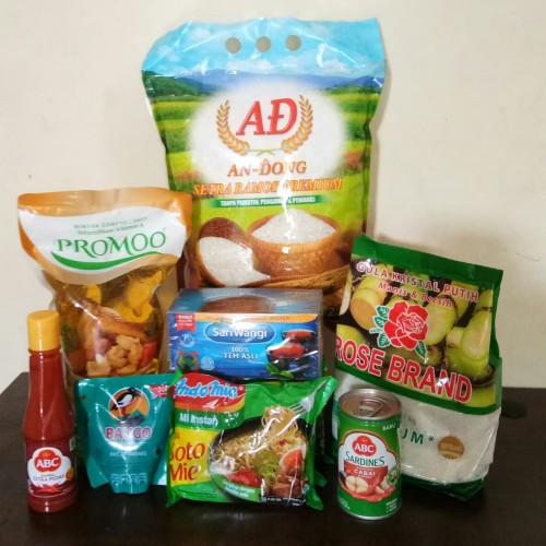 Foto Produk Paket Sembako 8 PROMO dari Eza@unopapua