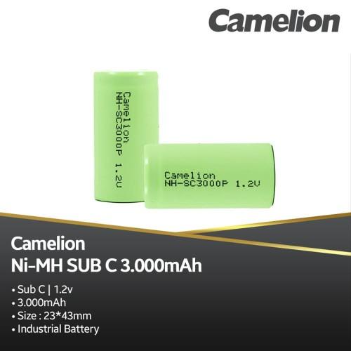 Foto Produk Camelion Rechargeable Sub C 3000 MAh Bp1 dari manekistore