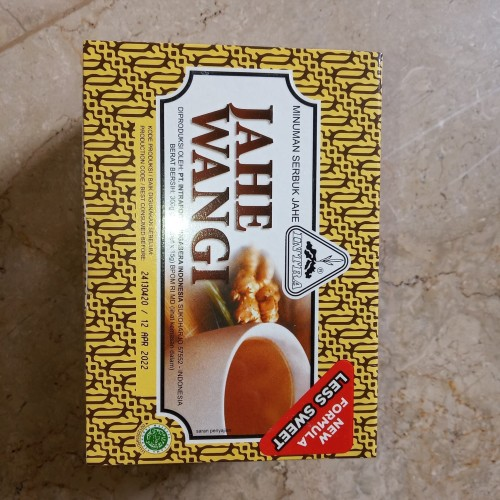 Foto Produk Minuman serbuk Jahe Wangi Intra 20 sachet dari Vianney