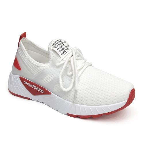 Foto Produk PVN Sepatu Sneakers Wanita Sport Shoes 008 - white red, 36 dari PVN Official Store