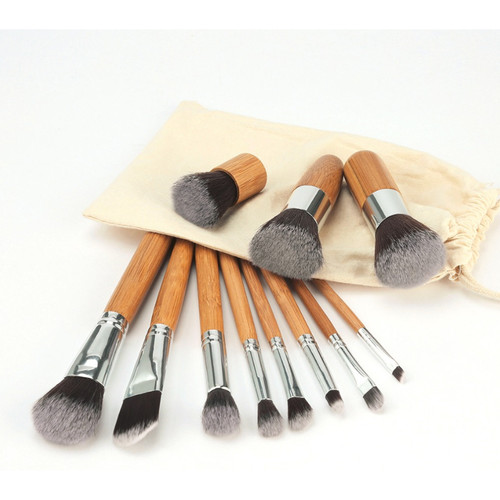 Foto Produk Kuas Make Up Cosmetic Make Up Brush 11 Set with Pouch dari One Of Kind Shop
